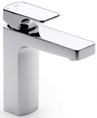 Roca L90 Cold Start Basin Mixer Tap - Chrome